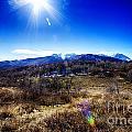 Sundance Aspen Loop-moutain Ranges V2 by Douglas Barnard