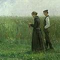 Sunday Afternoon by Leopold Karl Walter von Kalckreuth