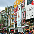Sunday Afternoon On Pedestrian Walkway In Istanbul-turkey by Ruth Hager