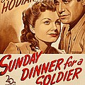 Sunday Dinner For A Soldier, Us Poster by Everett