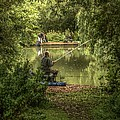 Sunday Fishing At The Lake by Jeremy Hayden