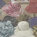 Sunday Hats For Sale by Kathy Barney