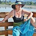 Sunday Lakeside  by VLee Watson