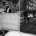 sunday morning roads closed for cyclists and walkers Santiago Chile by Joe Fox