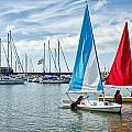 Sunday Sailing 2 by Susie Peek