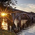 Sundown Bridge by Jackie Frick Smith