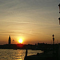 Sundown In Venice by Ellen Henneke