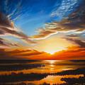 Sundown by James Christopher Hill