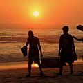 Ocean - Sundown Sunset by Kip Krause
