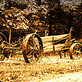 Sundown On The Honey Dew Wagon by Thomas Woolworth