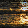 Sundown On The Waves by Thomas Woolworth