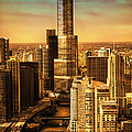 Sundown On Trump Tower by Thomas Woolworth