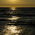 Sundown Reflections On The Waves by Thomas Woolworth