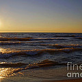 Sundown Scintillate On The Waves by Thomas Woolworth