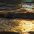 Sundown Shimmer On The Waves by Thomas Woolworth