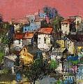 Sundown Touches The Neighborhood by Grigor Malinov