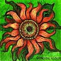 Sunflower 1 by Genevieve Esson