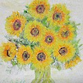 Sunflower Bouquet by Glenda Crigger