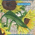 Sunflower Dictionary 1 by Debbie DeWitt
