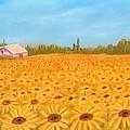 Sunflower Field by Anastasiya Malakhova
