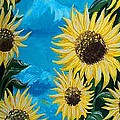Sunflower Fun by Timothy Michaels Flores