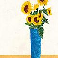 Sunflower by Guy LeFebvre