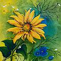 Sunflower Magic by Dawn Broom