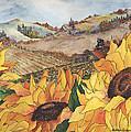 Sunflower Serenity by Meldra Driscoll