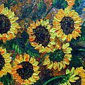 Sunflowers 2 by Karin  Dawn Kelshall- Best