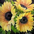 Sunflowers 3 by Vanda Bleavins