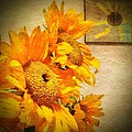 Sunflowers And The Sun by Anne Thurston