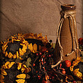 Sunflowers And Vase by Andrea Fitch