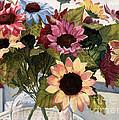 Sunflowers by Barbara Jewell