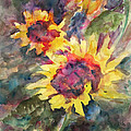 Sunflowers by Cathy Hirsh