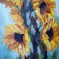 Sunflowers II by Donna Tuten