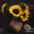 Sunflowers by Malcolm Bumstead