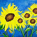 Sunflowers by Virginia Ann Hemingson