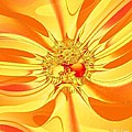 Sunglow Fractal by Maria Urso