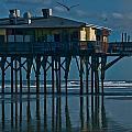 Sunglow Pier 5 by Michael Schwartzberg