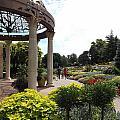 Sunken Garden Ironworks 2 by Caryl J Bohn