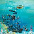 Sunken Ship Habitat by John Garland  Tyson