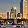 Sunkissed Prudential - Boston by Joann Vitali