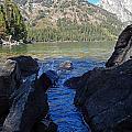 Sunlight On Lake Jenny by Heather Coen