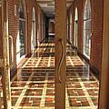 Sunlit Corridor by Ann Horn