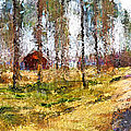 Sunny Day In April by Yury Malkov