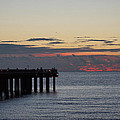 Sunny Isles Fishing Pier Sunrise by Rafael Salazar