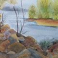 Sunny Lake by Audrey Bunchkowski