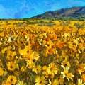 Sunny Meadow by Sergey Lukashin