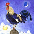Sunny The Rooster by Linda Mears