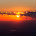 Sunrise Above 14000 Feet by Tony Hake